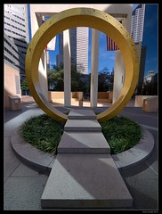 Ring (lyncaudle) Tags: city urban architecture dallas cityscape tx borderfx lyncaudle
