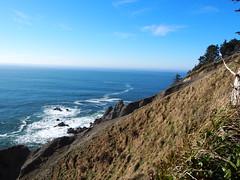 P1250053 (benguernsey) Tags: ocean cliff beach oregon pacific astoria cannonbeach oswaldwest shortsands traveloregon