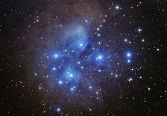 M 45 The Pleiades (Chuck Manges) Tags: astrophotography m45 taurus pleiades at65edq qhy9m