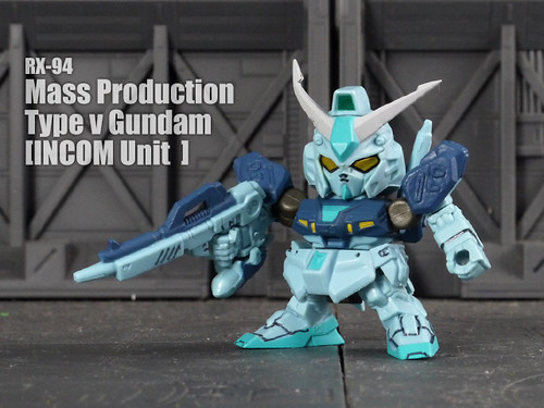 RX-94 Mass Production  Type ν Gundam [INCOM Unit​  ]