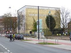 Hochbunker Bremen (2012) - Admiralstrasse (Wattman (trams, treinen, etc)) Tags: bunker bremen flak coldwar secondworldwar airraidshelter hochbunker luftschutzbunker luftschutz