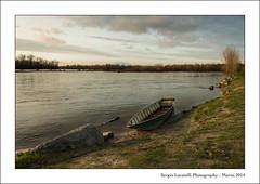 Quasi tramonto... (agoralex) Tags: ticino nikon barca tramonto fiume cielo acqua inverno lombardia d800 fiumeazzurro besate barchet agoralex