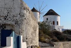 Windmills of Santorini (jenni747) Tags: travels windmills santorini greekislands oia bej