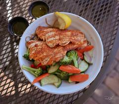 61/365 (B.Positive.2014) Tags: fish salmon sobanoodle salmonbowl