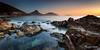 Box Beach Port Stephens (Kiall Frost) Tags: ocean sun beach water pool rock sunrise landscape photo australia nsw portstephens tomaree boxbeach kiallfrost