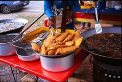 Anonymous - Giant Curry Puff of Kuala Selangor... (mankamen et ella) Tags: food cooking fuji iii bessa 14 puff rangefinder slide curry malaysia oil kuala 40mm e6 delicacies nokton malay selangor rdp r3m