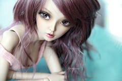 Dianne. (Dancing*Butterfly) Tags: doll tan bjd fairyland abjd celine msd mnf minifee eludys