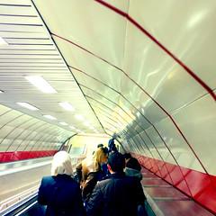 Transfer (Jeremy Brooks) Tags: people turkey metro escalator istanbul transit iphone