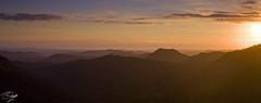 Canyon Lookout (Darcy Richardson) Tags: light sun sunrise canon golden coast australia east queensland goldcost 50d springbrooknationalpark canyonlookout