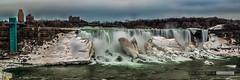 Niagarab Falls  - USA part (vk1962) Tags: new york usa snow ontario canada ice water niagara falls
