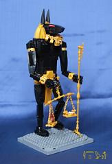 Anubis (inquisitor88) Tags: wolf jackal lego god contest egypt anubis