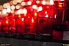 Chandelles (sebastienpharand) Tags: red church beautiful yellow jaune dark rouge fire photography focus candle god mtl quebec montreal royal burning sombre temperature montroyal reflexion église lampion feu saintjoseph dieu chandelle verre oratoire grandiose royalmount photpgraphie mtlmoments