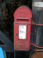 HP18 187 - Ham Farm, Bicester Road 140411 (maljoe) Tags: postbox royalmail eviir hp18