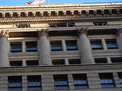 (sftrajan) Tags: sanfrancisco architecture facade architecturaldetail terracotta financialdistrict californiastreet corinthiancolumns merchantsexchange willispolk