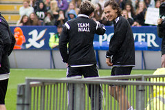 Niall Horan & Harry Styles (vagueonthehow) Tags: onedirection harrystyles niallhoran niallhorancharityfootballchallenge