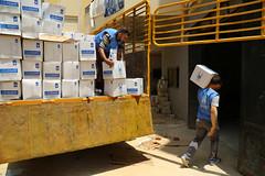 Lebanon Ramadan Food Packages Preparations 2015