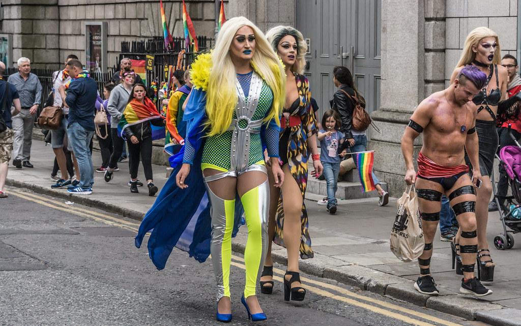 DUBLIN 2015 LGBTQ PRIDE PARADE [WERE YOU THERE] REF-105969