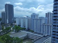 20170301_1030 Singapore skyline from 10th floor of Hotel Boss