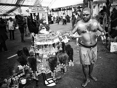 Preparation before Thaipusam (-Faisal Aljunied - !!) Tags: devotee ritual documentaryphotography streetphotography festival indianculture singapore thaipusam ricohgr faisalaljunied
