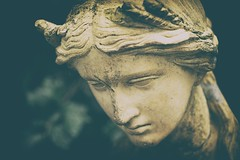 The wait (BrotherBloat) Tags: ifttt 500px a7s2 a7sii age craft expression face film old pondering sad sadness sculpture serious sorrow statue thinking thought vintage waiting