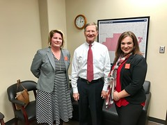 Meeting with Representative Lamar Smith