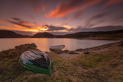 A Sunset LE .. (Gordie Broon.) Tags: lochruthven fishingboats sunset le longexposure beach scottishhighlands invernessshire croachy tullich schottland landscape paisaje caledonia paysage hills scotland collines ecosse farr escocia heuvels colinas gordiebroonphotography scenery strathnairn sky clouds szkocja alba inverness canon5dmklll canon1635f4l scozia torness abersky browntrout winter 2017 windy geotagged nd110filter lac meer paesaggio