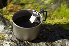 Coffee! (HendrikMorkel) Tags: outdoors gear titanium stoves esbit