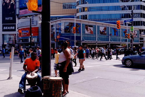 Corner of Yonge and Dundas