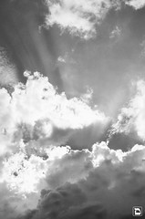 Aserri´s Sky B/W (Daniel VC) Tags: summer sky daniel cielo verano valverde aserri