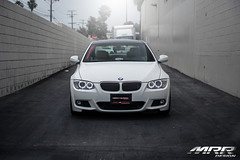 BMW_328i_MRR_GT8_WHEELS_HS_10 (MRR WHEELS) Tags: white silver wheels tires bmw rims e90 328i