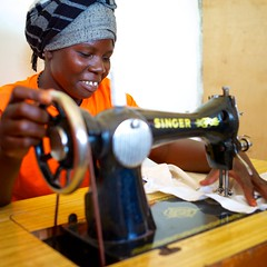 Uganda: Women's business program enters 3rd year; new products online (Peace Gospel) Tags: poverty smile happy women sewing crafts uganda empowered smallbusiness