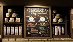 Starbucks in Surfers Paradise (haphopper) Tags: pictures art word logo cafe australia starbucks font eats surfersparadise goldcoast  ool 2013 aussiefoods