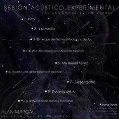 Sesin Acstico-Experimental - Contratapa (Alan Margall) Tags: art experimental album cover musica tapa diseo virus psicodelico alternativo lenguaje acustico margall acustioexperimental