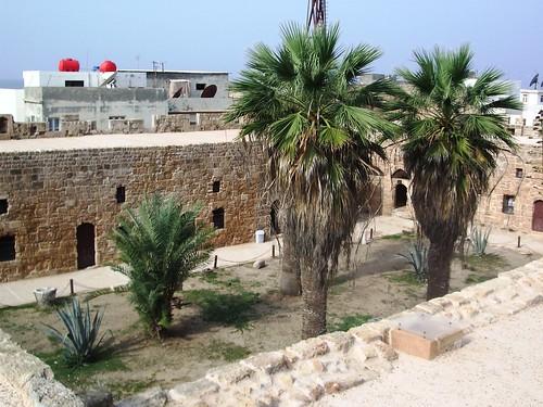 La cour intérieure de la citadelle