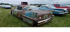 Rusty Cad. (goldiesguy) Tags: show old cars car automobile antique cadillac classics rustbuckets classicrearendscars
