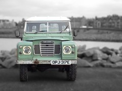Series 3 Land Rover (Owen H R) Tags: 3 green orkney rover land series owenhr