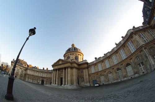 Institut de France (Paris) - fisheye