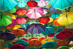 "A Colourful Shower of Umbrellas • <a style=""font-size:0.8em;"" href=""http://www.flickr.com/photos/7605906@N04/9392475320/"" target=""_blank"">View on Flickr</a>"