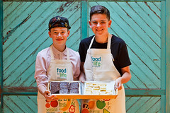 Food For Life Partnership (Soil Association) Tags: school chickens cooking students cake market meals farming growing catering schoolfood soilassociation foodforlife
