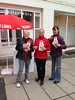 Infostand in Apolda