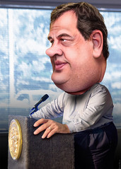 Chris Christie - Caricature (DonkeyHotey) Tags: art face photomanipulation photoshop photo newjersey election political politics cartoon manipulation governor convention caricature republican campaign gop karikatur rnc caricatura commentary  politicalart 2016 karikatuur politicalcommentary   chrischristie donkeyhotey christopherjameschristie