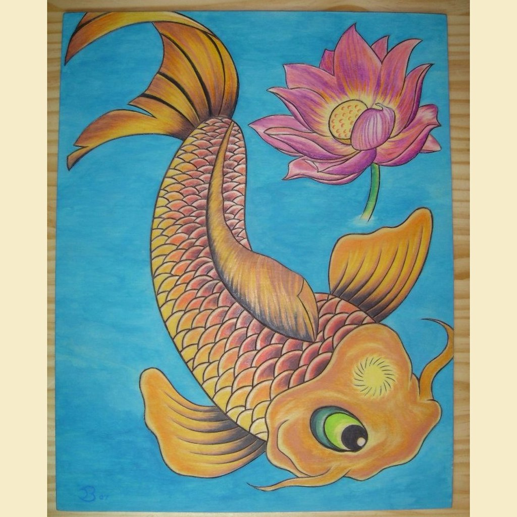 The worlds most recently posted photos of koi and lotusflower koi fish and lotus flower morethanmosaics tags flowers fish kitchen glass yoga java izmirmasajfo