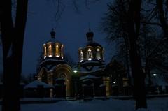 D2H_0335 (F.X.TESTU) Tags: poland nocturne eglise 2010 pologne orthodoxchurch podlaskie podlachie biaowieza