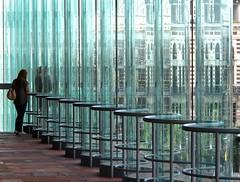 Blurred (YIP2) Tags: city urban detail building window museum architecture fence design mas belgium geometry wave line antwerp architects modernarchitecture flanders neutelingsriedijk urbandetail museumaandestroom
