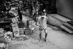 L1067035 (terencehonin) Tags: street leica old white black walking hongkong 50mm walk candid oldman aged summilux m9p