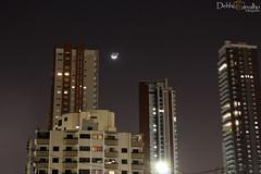 Lua e Vnus 08/09/2013 (Dehhco Carvalho) Tags: night canon eos cu sp lua noite paulo fotografia so carvalho luar t3i vnus 600d dehhco dehhcocarvalhofotografia