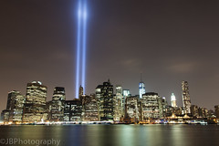 9/11 (Josh Bonanno) Tags: new york city nyc speed lights memorial long slow 911 11 september shutter