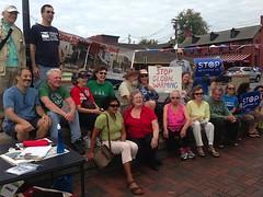 Annapolis, Maryland (350.org) Tags: change keystone sands xl climate tar drawtheline 350org 350ppm keystonexl