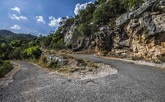 my road... (patiigraphy) Tags: road trip trees summer vacation mountains nature way landscape dangerous holidays rocks pentax montenegro patii wriggler twistedroad pentaxk5 patiigraphy
