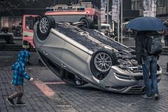 Worldwide Photowalk Stuttgart #1 (Ben Gomes) Tags: boy car scott kid dad child stuttgart crash accident father fake run photowalk setup feuerwehr kelby feuerwehrübung